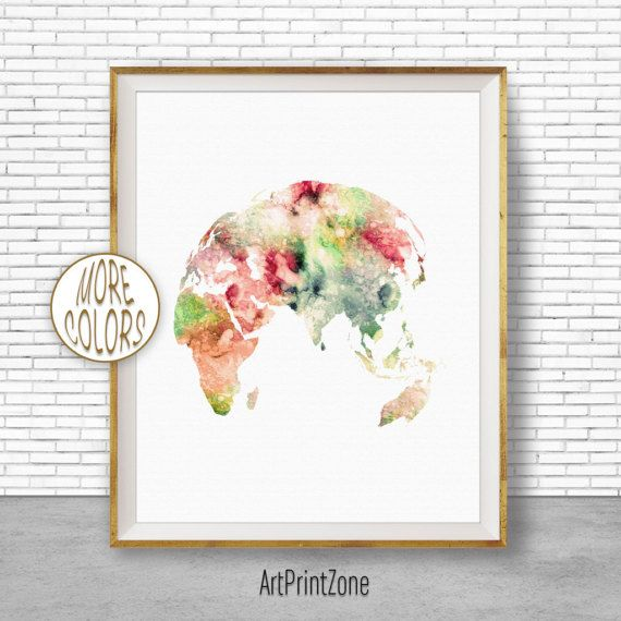 $8.00 Globe Print, Asia Print, Asia Art, Globe Art, Globe Decor, World Map Poster, World Map Wall Art, World Map Print, World Map Decor #WorldMapPrint #GlobePrint #GlobeDecor #WorldMapPoster #GlobeArt #WorldMapWallArt #WatercolorMap #AsiaArt #WatercolorWorldMap #AsiaPrint