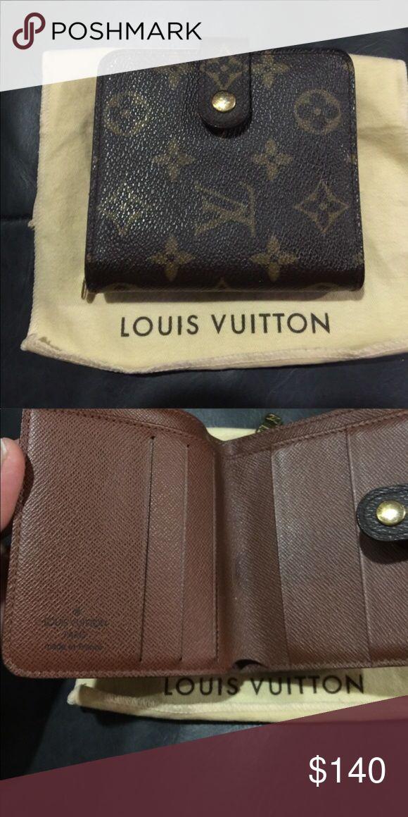 Louis Vuitton wallet Authentic Louis Vuitton monogrammed bi-fold wallet. Priced fair and firm Louis Vuitton Accessories Hats