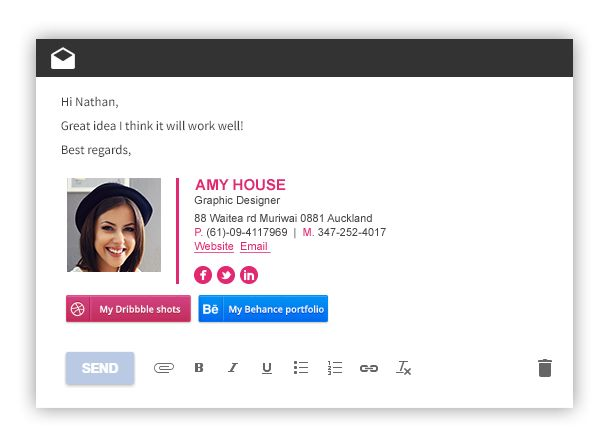 Best 25+ Email footer ideas on Pinterest