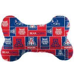 Arizona Wildcats Plush Bone Toy