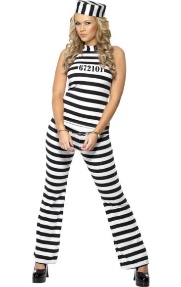 Female Convict Costume | Jokers Masquerade
