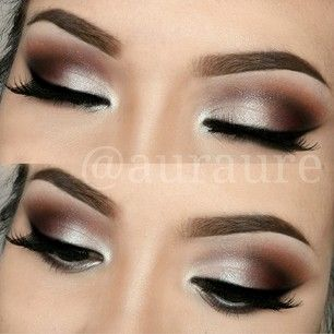 Aurelia Justina @auraure Instagram photos | Webstagram. DIY makeup inspiration. Ideas for brown eyeshadow color palette.