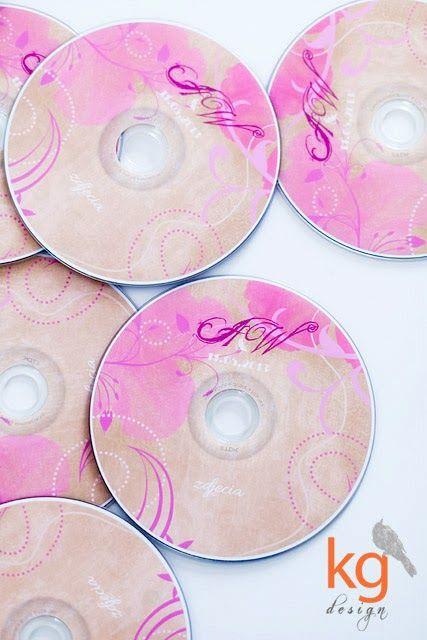 dodatki ślubne, styl vintage, piwonie, płyty dvd z nadrukiem