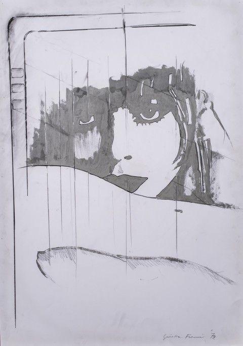 Giosetta Fioroni | born 1932, Italy | ritorno liberty, 1972,