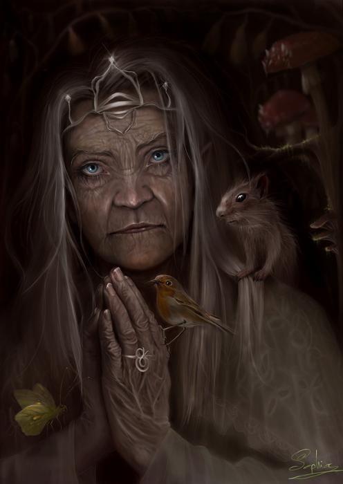 Ведьма старая картинка