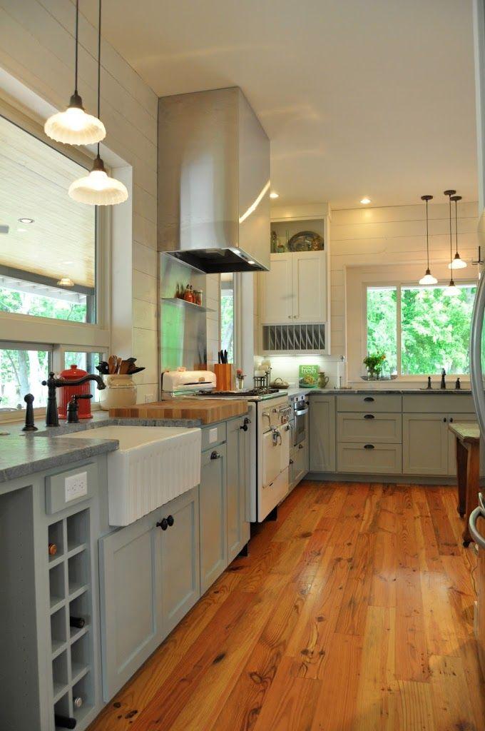 Reclaimed Wide Plank Pine Floors from Old Beams – plus Bona Traffic Satin | Matt Risinger Blog