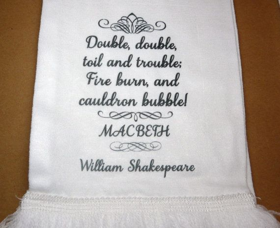 Double The Trouble Quotes: Quotes From The Witches From Macbeth. QuotesGram