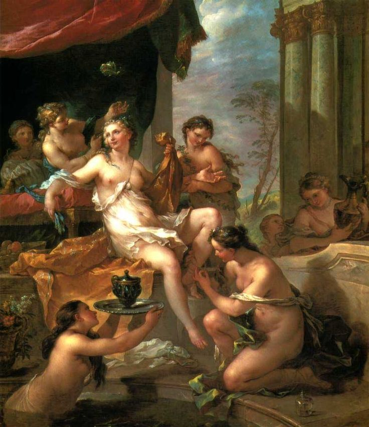 Charles-Joseph Natoire The Toilet of Psyche, 1735.