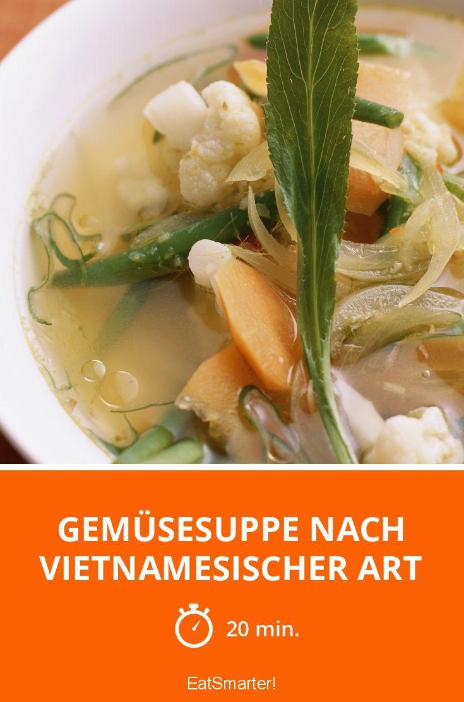 Gemüsesuppe nach vietnamesischer Art - smarter - Zeit: 20 Min. | eatsmarter.de