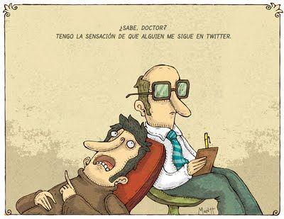 Paranoia virtual / Twitter y el psicologo.
