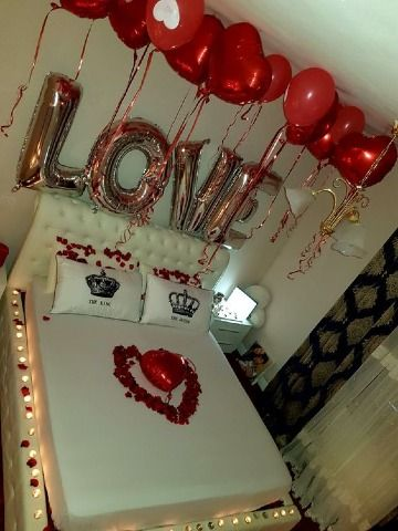 Ideas de cuartos adornados para mi novia en 14 de febrero for Cuartos decorados para aniversario