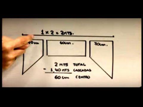 Como hacer una Cenefa Escalonada. Sonia Franco 2/5 - YouTube