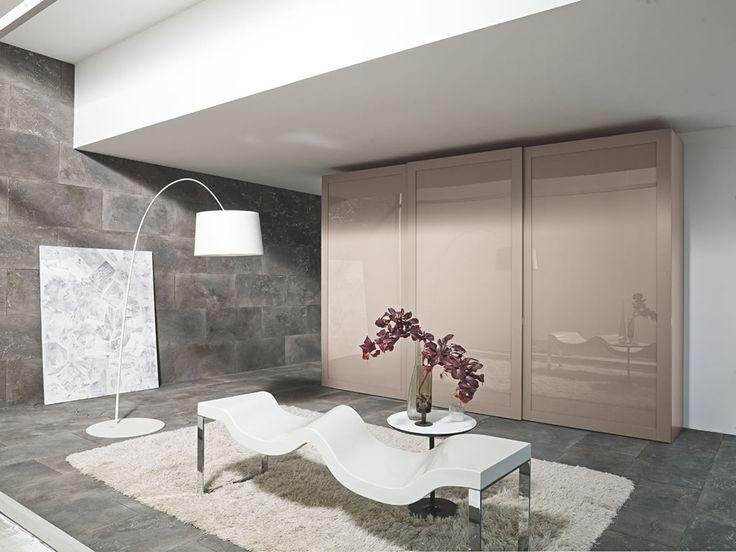 Modern Italian Bedroom Furniture Design Of Aliante Wardrobe Quadro By Venier
