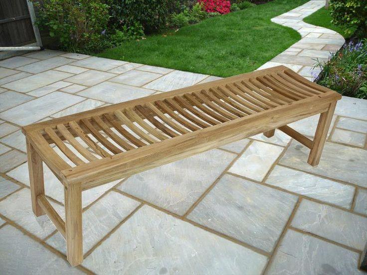 Stratus Teak Garden Bench