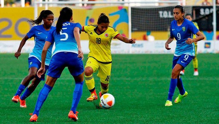 Pese a goleada en final de los Panamericanos, Colombia obtuvo medalla de plata en fútbol femenino