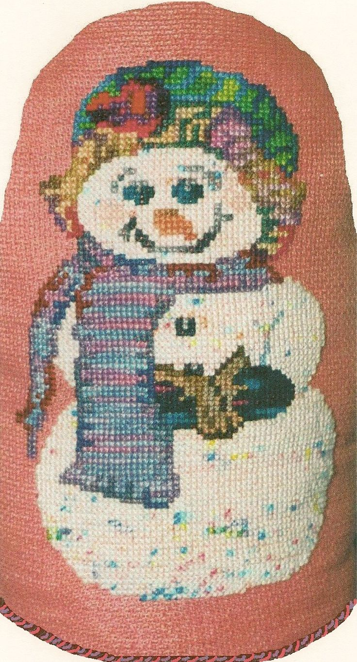 Snow Lady was one of my first. Again, Rainbow Gallery using all variegated threads.