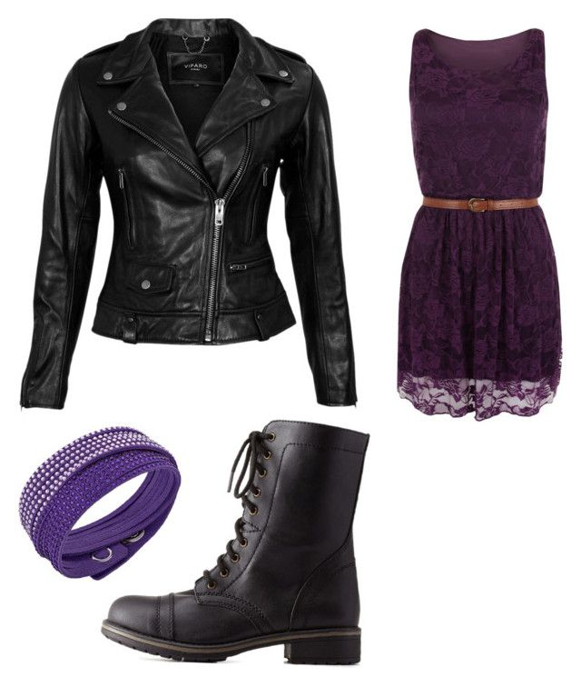 """Mals date outfit with Ben inspired outfit from descendants"" by malaea320 on Polyvore"
