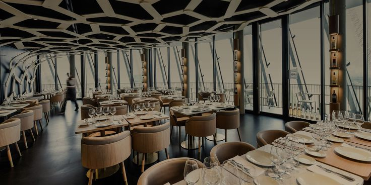 Restaurant Le 7 | La Cité du Vin #bordeaux #france