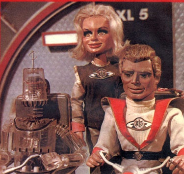 I wish I was a space- ace man, the fastest guy alive.  I'd roam (?) around the universe in Fireball XL 5.