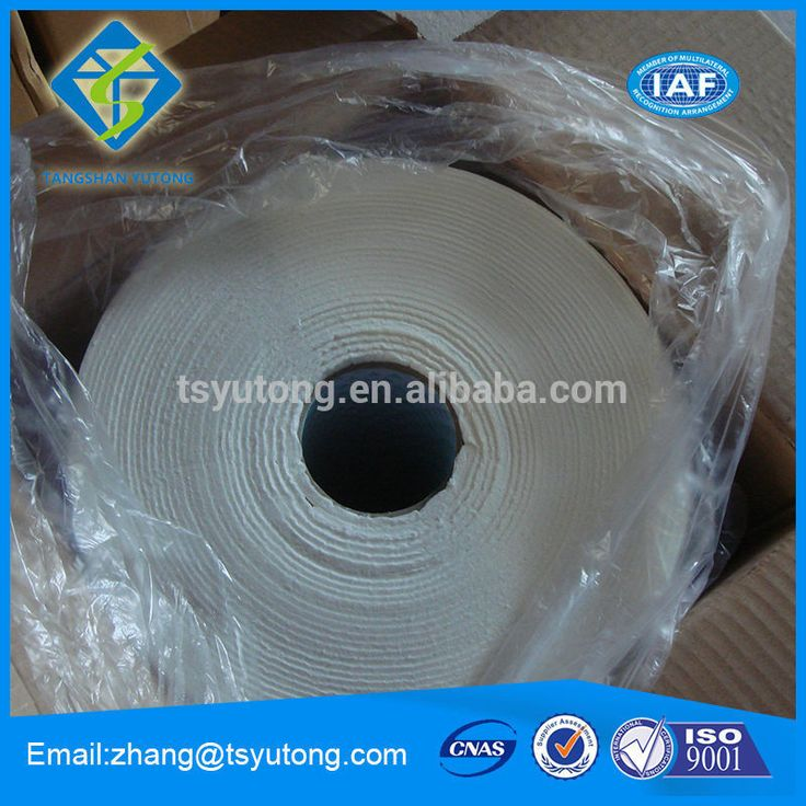 Heat Insulation Ceramic Fiber Blanket 1260 degree