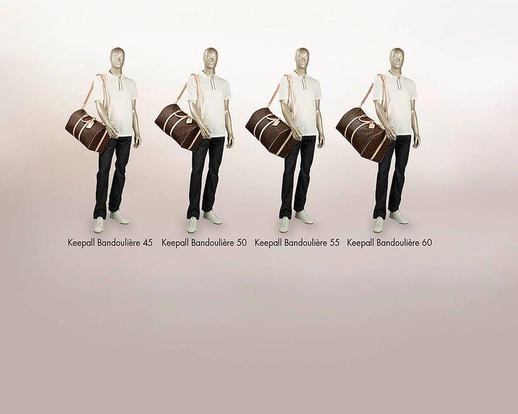 LOUISVUITTON.COM - Louis Vuitton Keepall Bandoulière 45 (LG) MONOGRAM Travel