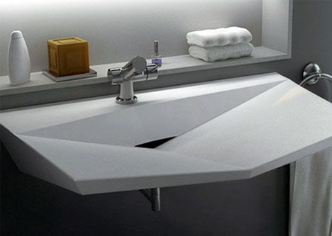 Modern Bath Sinks Accessible Bathroom Layout Design For