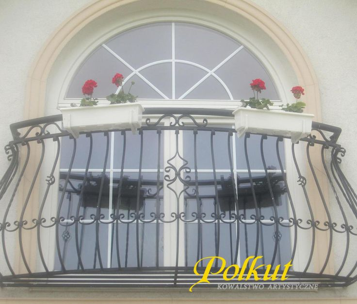 balustrady kute balkonowe
