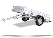 The light S-series with tips The popular S series with Tipfunktion. Provides additional options for loading and unloading goods. All models are available with a Wide range of optional accessories. Good for transporting small machines, Wheelbarrows and gardening tools.