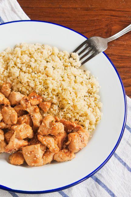 Ricetta Cous cous piccante con pollo marinato - Le ricette di Nuova terra