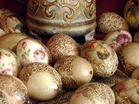 vintage eggs Soňa Šuhajdová