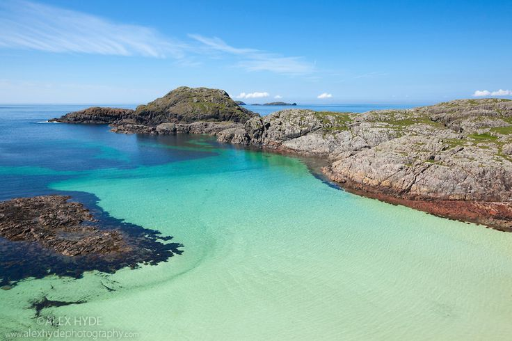 Coastline of Iona, Isle of Mull