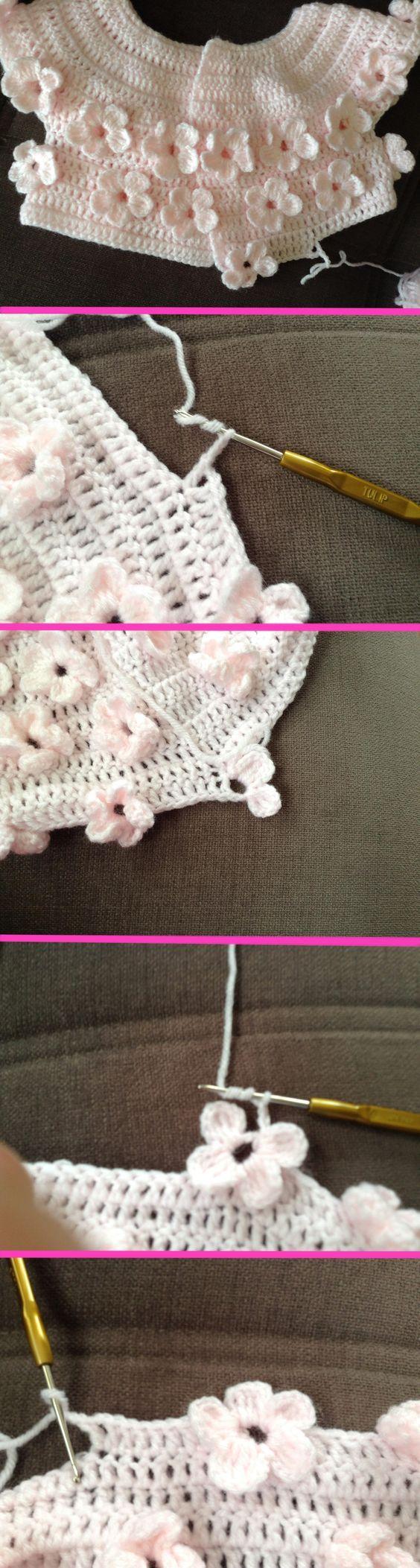 124 besten baby crochet Bilder auf Pinterest | Häkelmaschen ...