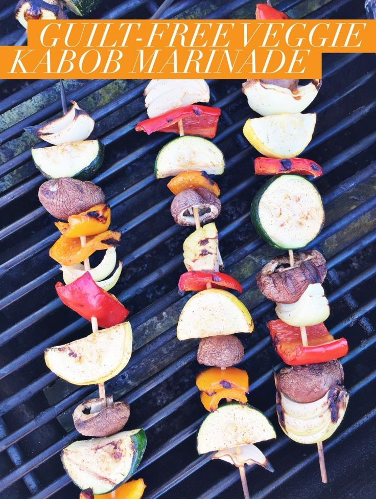 how to make veggie kabobs