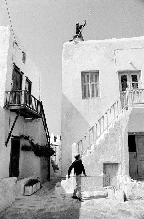 Rene Burri Mykonos 1964 Magnum Photos -