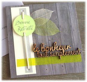 Carte invitation départ à la retraite thème champêtre