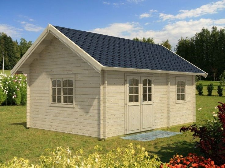 Beautiful Details zu Ferienhaus Sandra m ISO x m Gartenhaus Blockhaus Gartenh user Holz