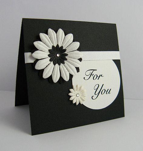 For You - handmade card