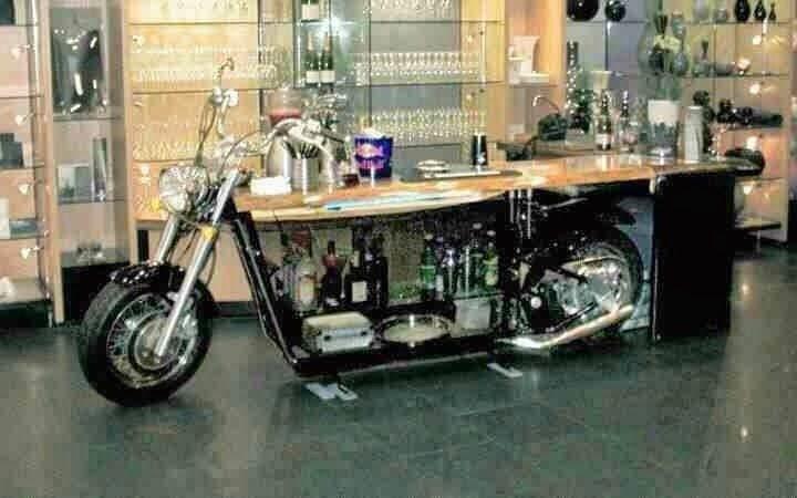 Furniture inspired by moto / Motor + Bar