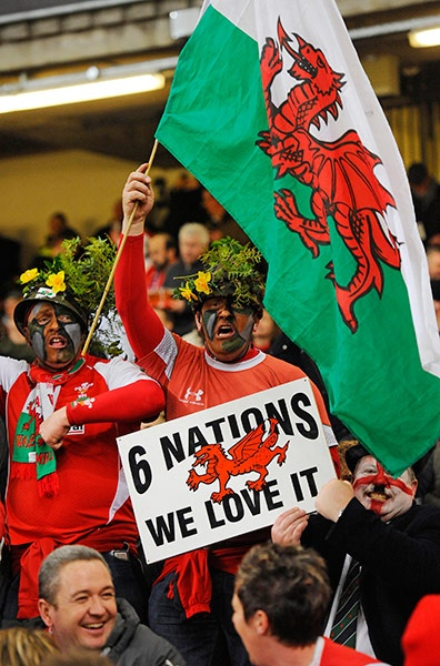 Wales 30 England 3   Wales wins 2013 Six Nations Championship!
