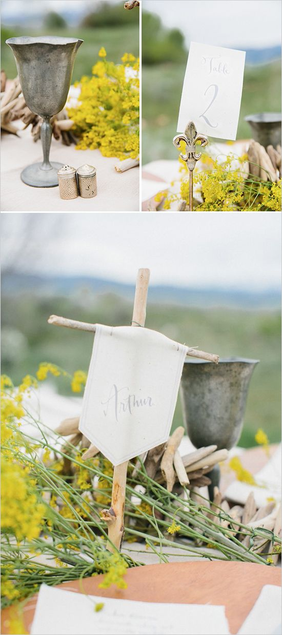 Old English wedding ideas with rustic touches. #weddingchicks Captured By: D'Arcy Benincosa http://www.weddingchicks.com/2014/08/18/old-english-wedding/