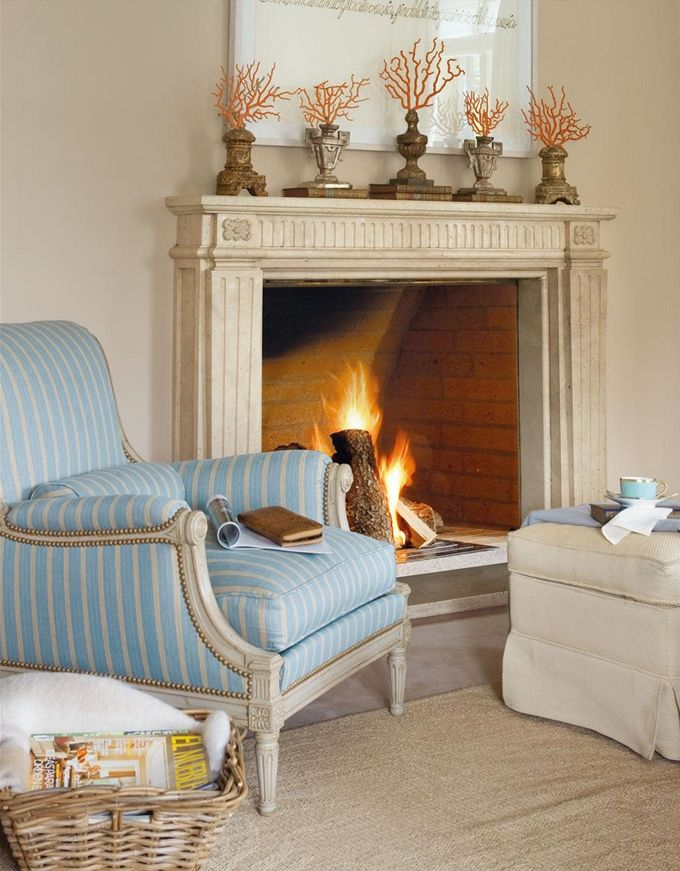 Time to cuddle up by the fire surrounded by a beautiful palette! #coachbarn #furniture #design
