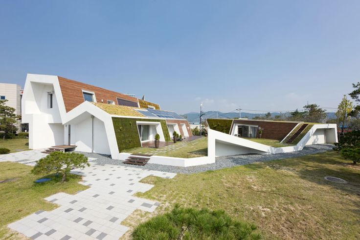 unsangdong architects: sustainable E+ green home - designboom   architecture & design magazine