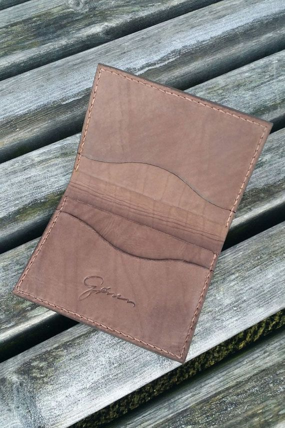 Check out this item in my Etsy shop https://www.etsy.com/nl/listing/260503152/leather-minimalist-cardholder