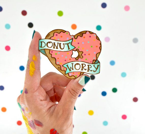you donut have to worry about anything with  this adorable hand painted laser…