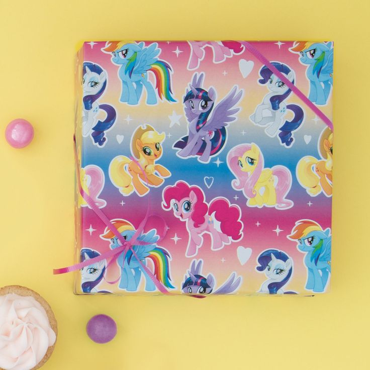 My Little Pony wrapping paper | My Little Pony birthday party | My Little Pony party supplies