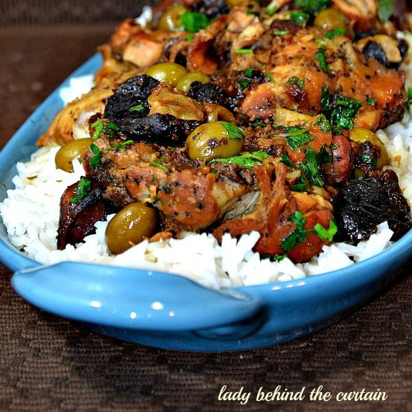 ... Mediterranean Chicken | Recipe | White rice, Red wines and Chicken