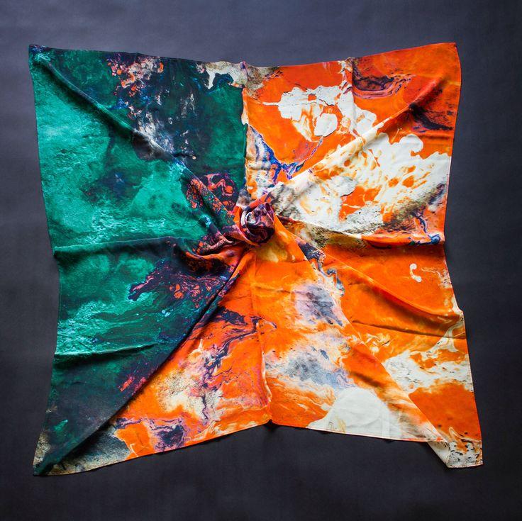 L'Escala Silk Square Scarf by ClanCollective on Etsy https://www.etsy.com/au/listing/386050066/lescala-silk-square-scarf