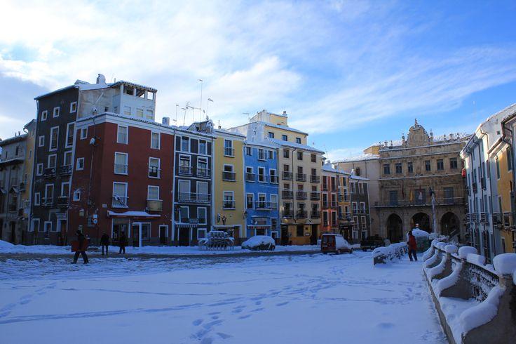 Plaza Mayor en Cuenca, Castilla-La Mancha