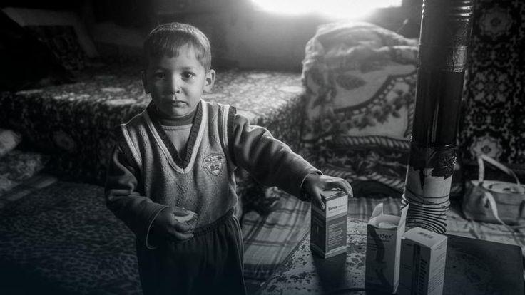Pomoc przed zimą dla uchodźców z Syrii