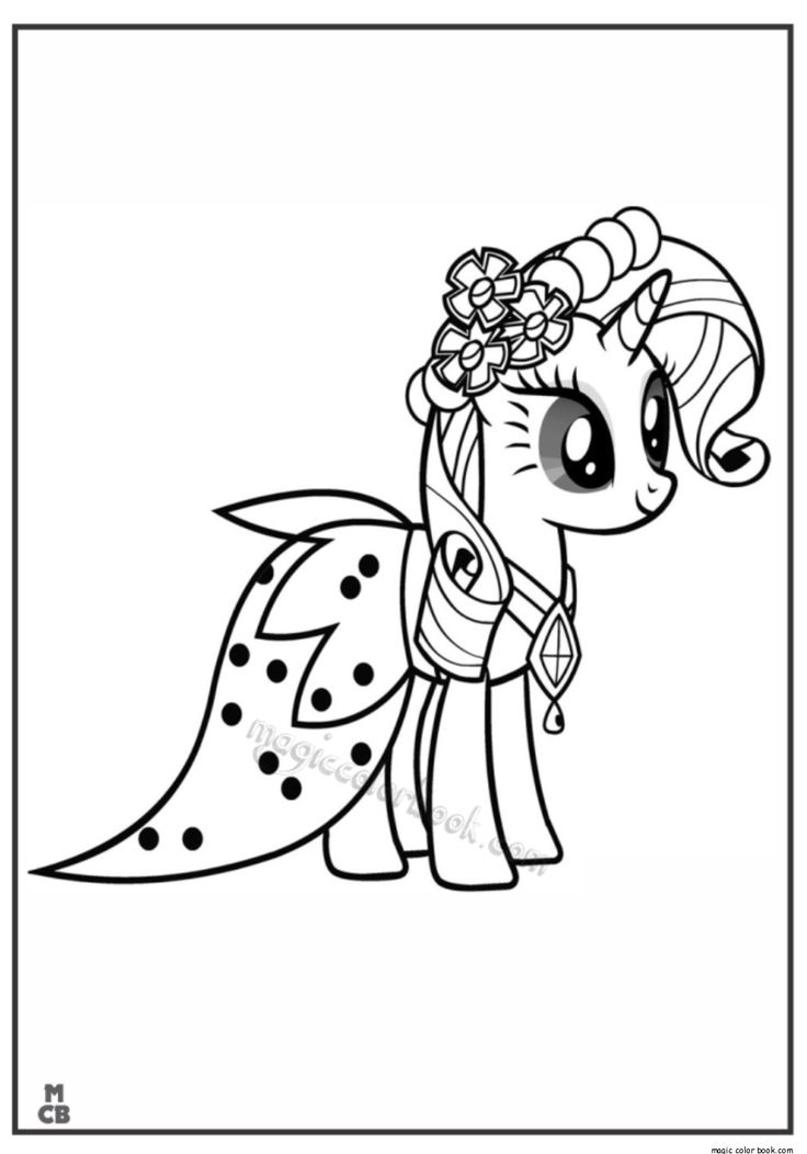 29 best My little Pony Coloring pages free online images on ...